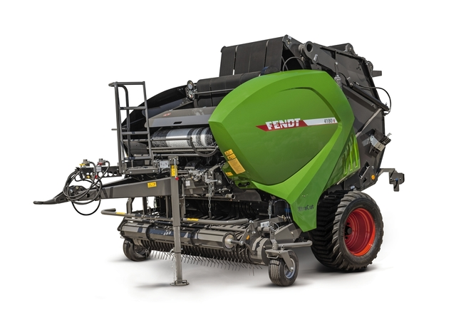 Fendt variable round balers picture